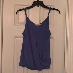 Lush Cross Front Cami